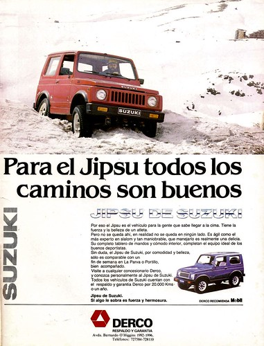 Suzuki Jipsu - Hoy (1983 Octubre 12 al 18)