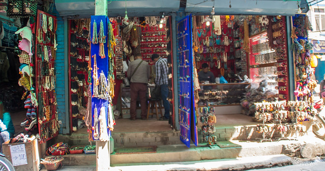 Shopping in Thamel