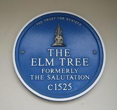 Photo of Elm Tree, Devizes blue plaque