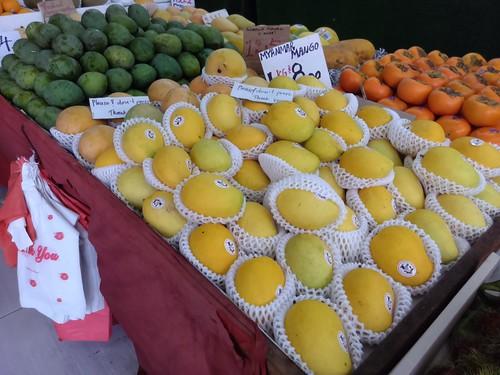 Burmese and Malaysian Mangoes