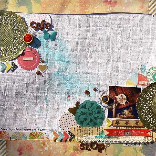 cafe stop - May Kits Gina