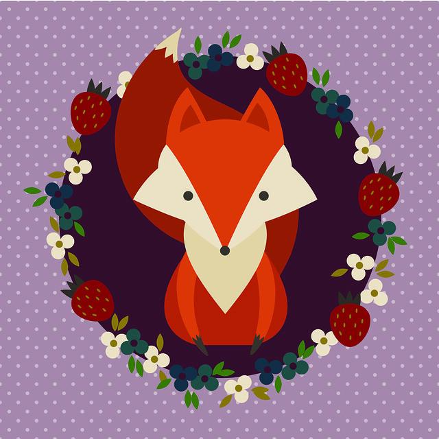 Retro fox