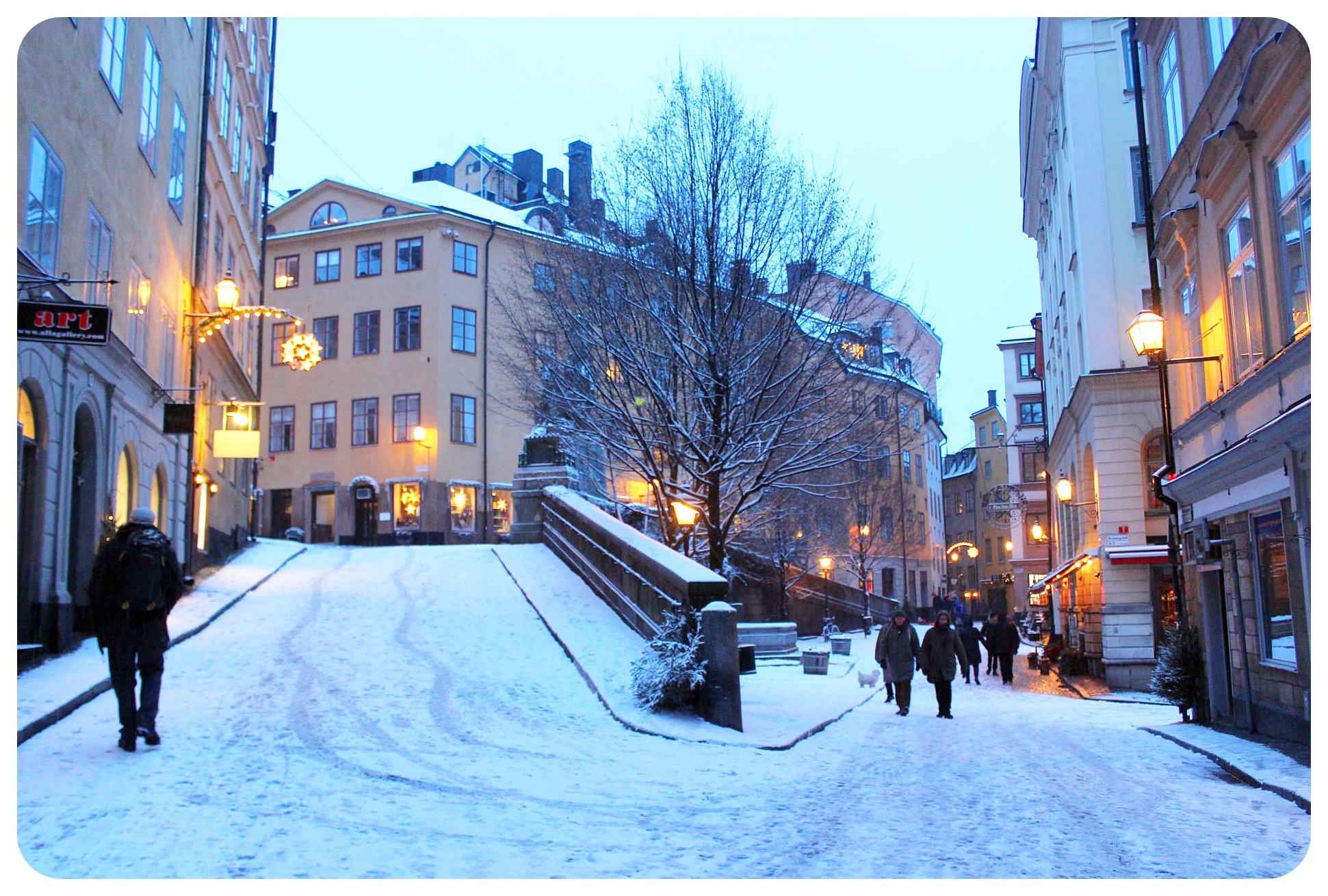 stockholm in the snow -#main
