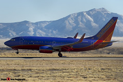 N432WN - 33715 1297 - Southwest Airlines - Boeing 737-7H4 - Albuquerque, New Mexico - 141229 - Steven Gray - IMG_1426