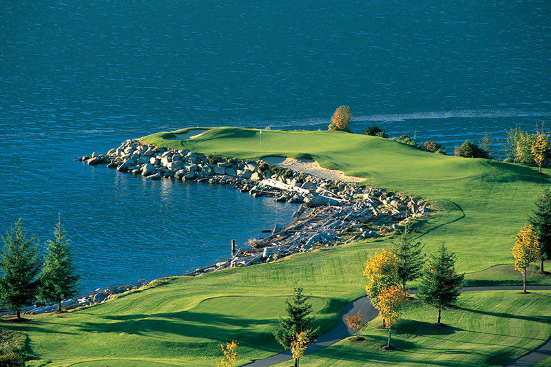 Furry Creek Golf Course, Lions Bay, Vancouver, British Columbia, Canada