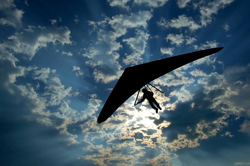 Paragliding on Salt Spring Island, Gulf Islands, British Columbia