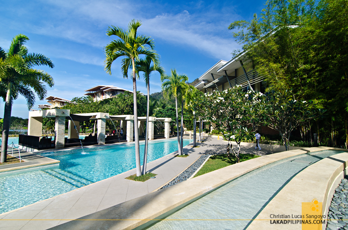 Pool Area at Pico de Loro Cove in Hamilo Coast, Batangas