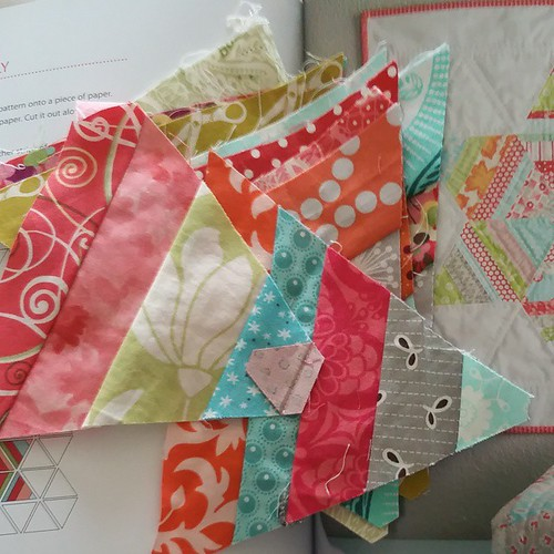 I almost forgot to post my a lovely year of finishes this month. I am going to try to finish my adorn mini quilt. #alyof