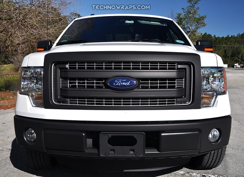 Matte grille wrap by TechnoSigns in Orlando, Florida