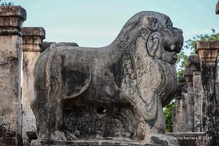 Sri Lanka. Polonnaruwa. King's Council Chamber.