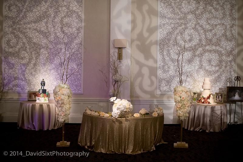 Sheraton Gunter Hotel Crystal Ballroom Cakes