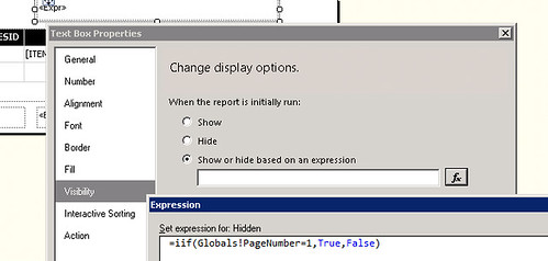 Ssrs Expression Iif