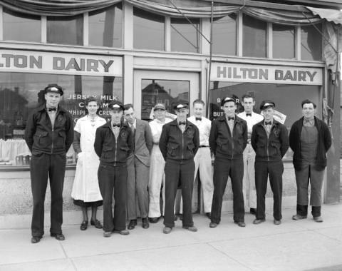 Hilton Dairy Vancouver 1936 / Hilton Dairy, Vancouver, 1936