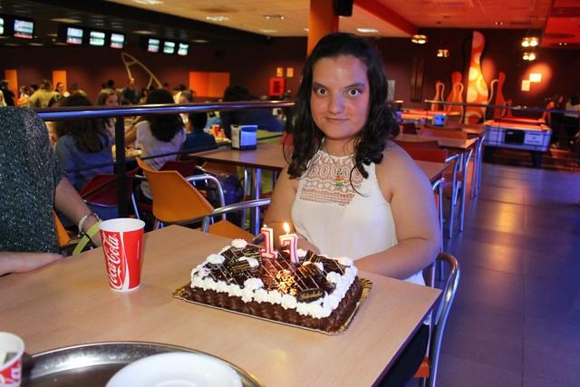 Cumpleaños Irene R.A. (15 de abril de 2016)