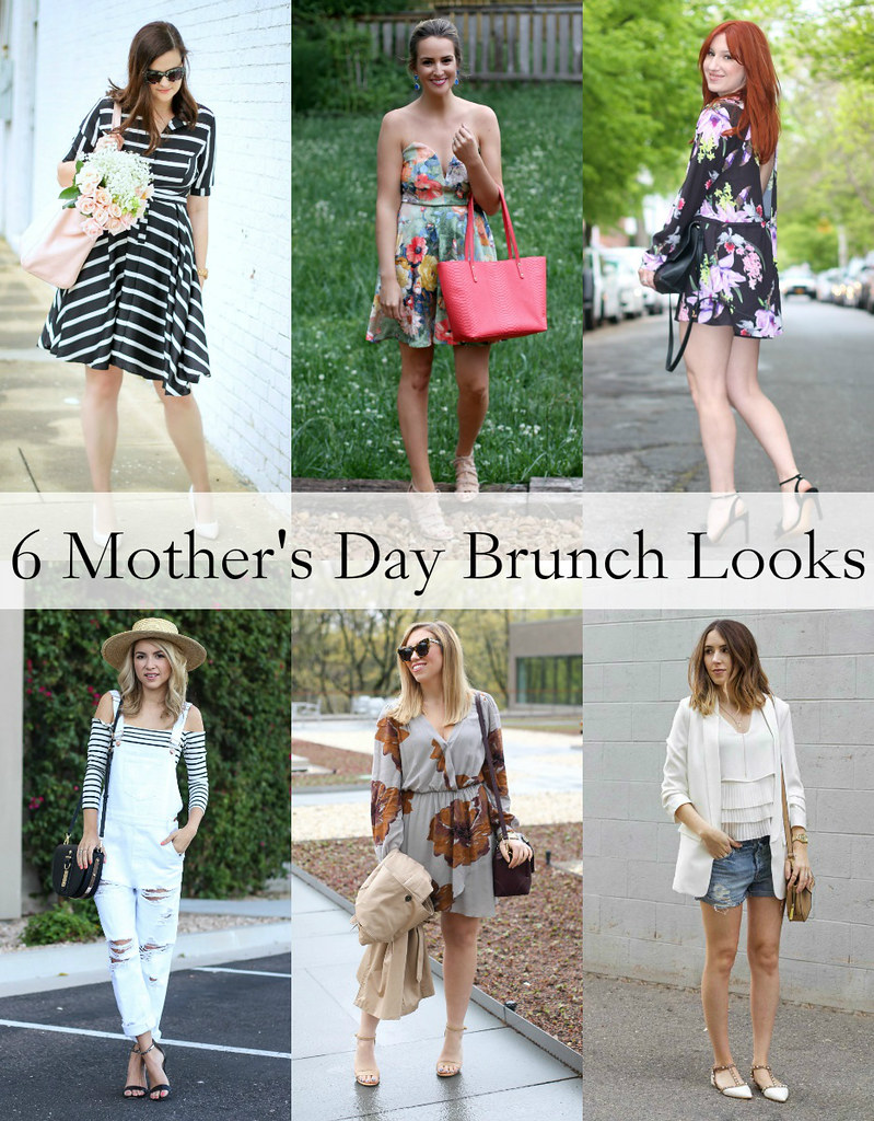 6 Mother's Day Brunch Looks | Mother's Day Spring Outfit Ideas
