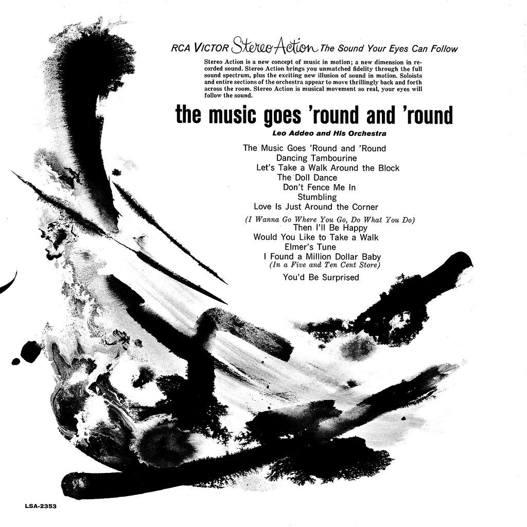 Leo Addeo - The Music Goes 'Round And 'Round