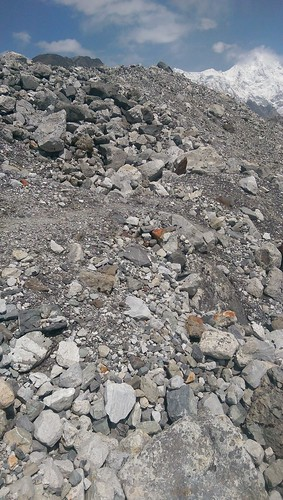 Scree tower Himalayas