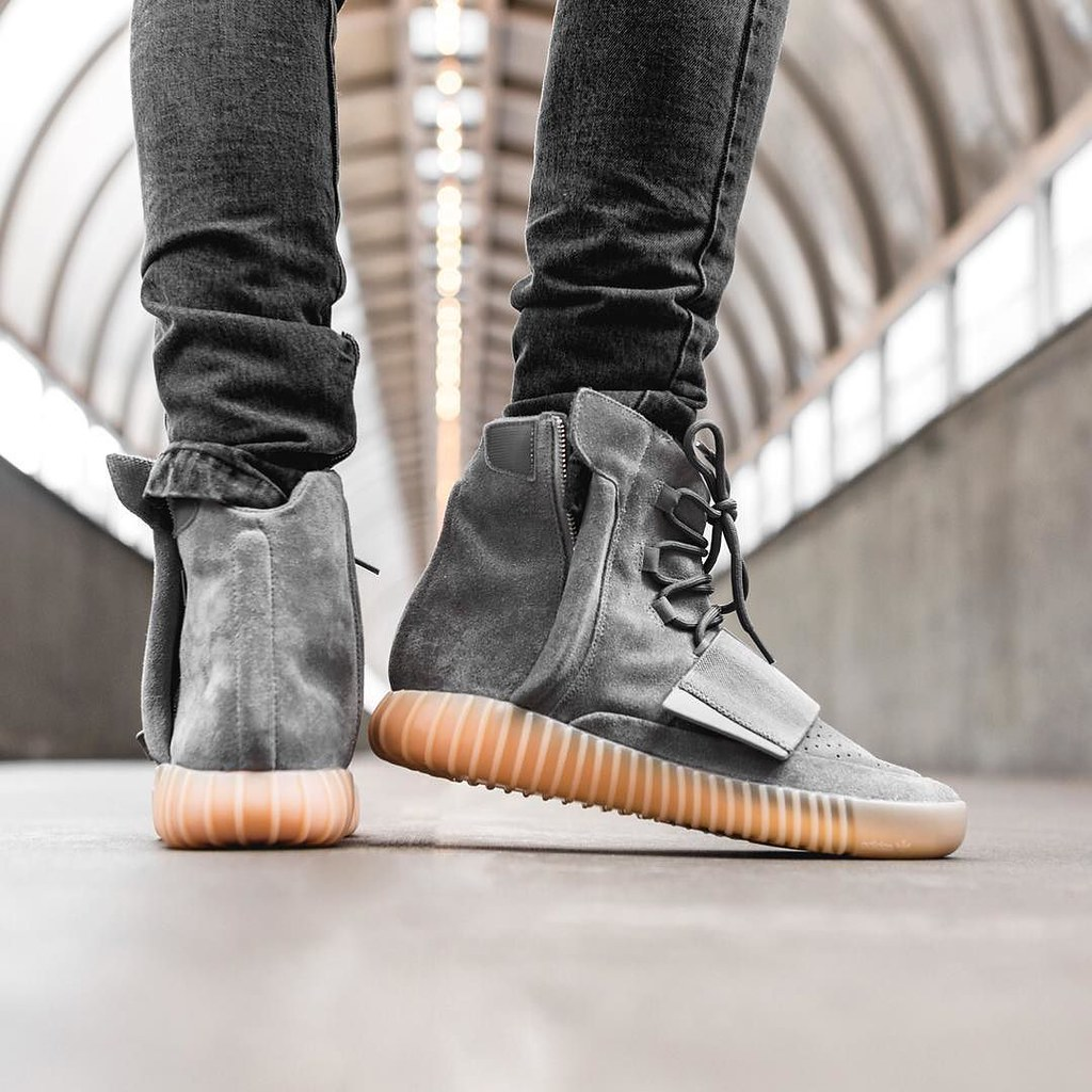 ... Let The Madness Begin... adidas YEEZY BOOST 750 Grey Gum  0be8fc08e