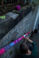 Yarn bombing Besançon 06