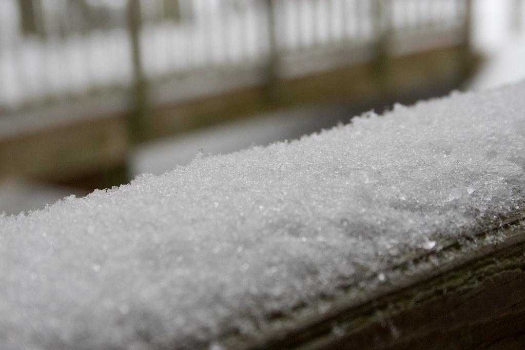 frozen handrail