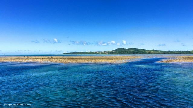 今日もこんな感じのお天気! 久しぶりに小浜島へ♪