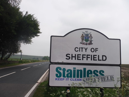 End of Alternative Ending: City of Sheffield Sign and Moscar Lodge Bus Stop