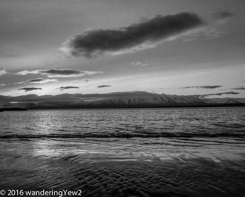 blackandwhite 120 mamiya film beach mediumformat dawn iceland filmscan blackandwhitefilm mamiya7ii sauðárkrókur
