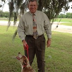 May 26, 2016 - 14:03 - Each Friday we feature a shelter animal and one of our employees on our Facebook page in our 'Find A Home Friday' sequence in an effort to increase adoption rates at the shelter and also to bring awareness to the many animals that need adopting. This picture is one that the Sheriff took with Joyce, a female catahoula mix in the hopes of getting her adopted. She instantly bonded with him. 