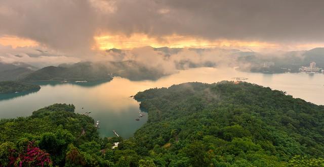 Panorama, Sun Moon Lake 日月潭