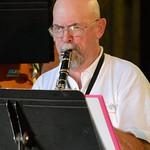 Clarinet Player, Richmond Jazz Band
