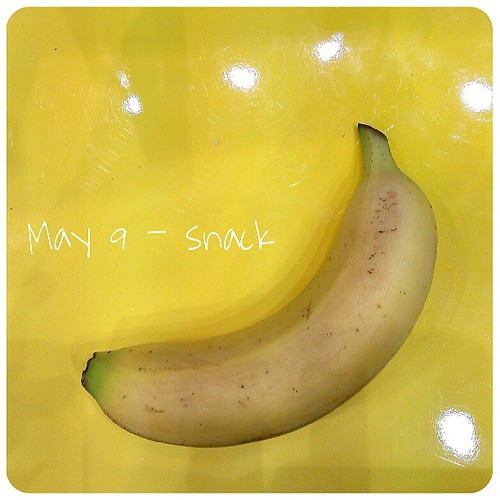May 9: snack .. #banana .. #fmsphotoaday