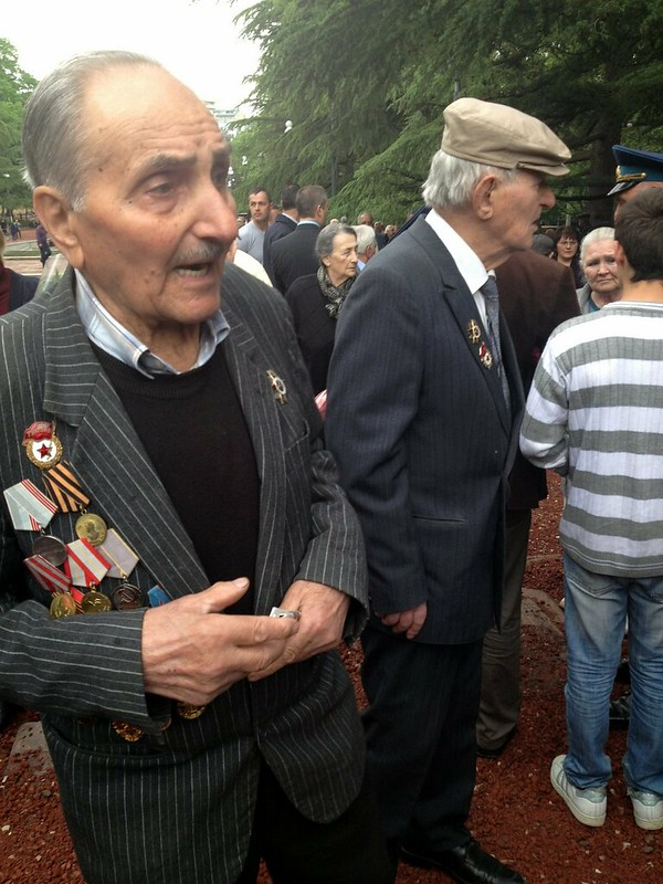 Veterans, 9 May 2013 Vake Park Tbilisi