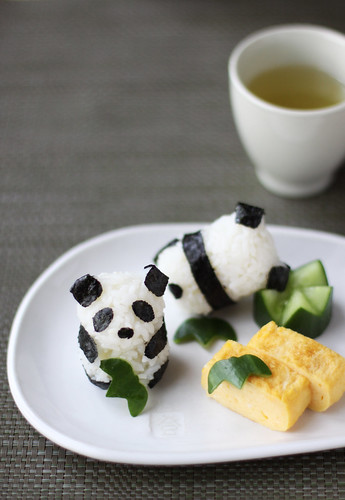 Baby Panda Rice Balls(パンダおにぎり ベビー)