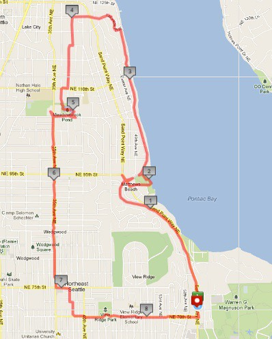 Today's awesome walk, 8.53 miles in 2:43 by christopher575