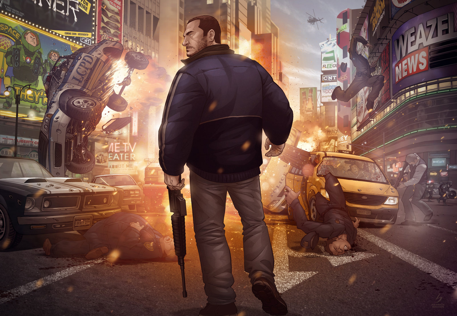 'Grand Theft Auto IV Finale' - Patrick Brown