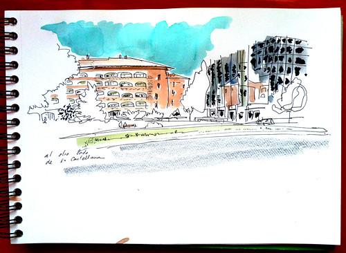 al otro lado de la Castellana, Madrid