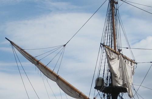 18th century sailing boat
