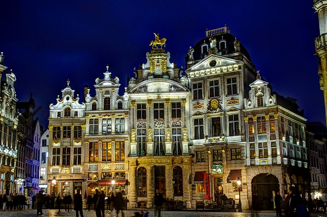 Restaurant on the Grand Place in Brussel