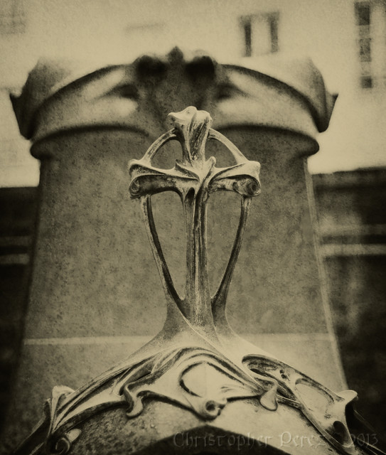 Pere Lachaise ~ tintype