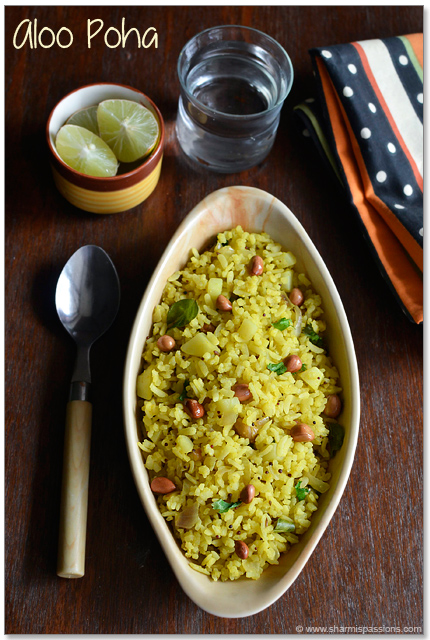 Aloo Poha Recipe