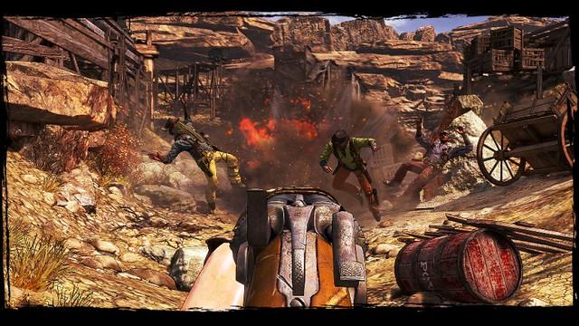 Call of Juarez : Gunslinger - Screenshot 1