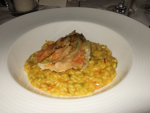 Risotto with Tempura. It works.