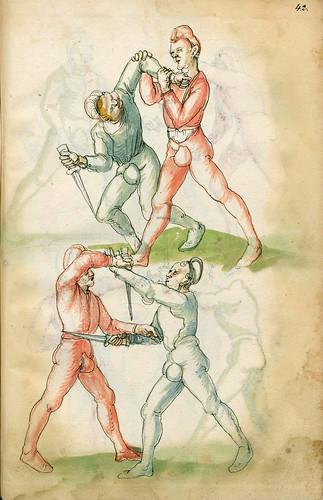 013-Fechtbuch-1520-Staatsbibliothek zu Berlin