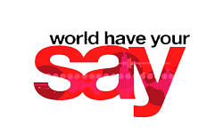 world have your say