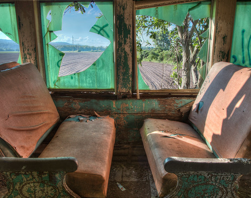 Abandoned Train Car, NY State