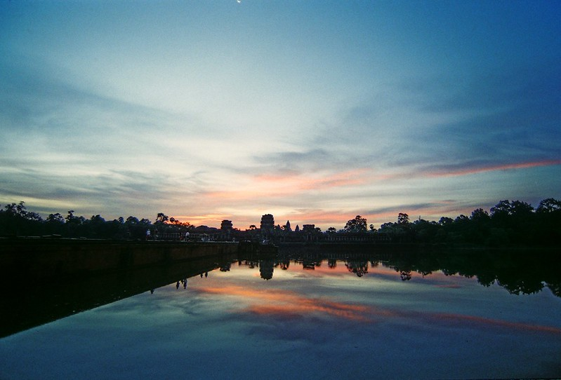 Sunrise @ Angkor Wat, 7/2013