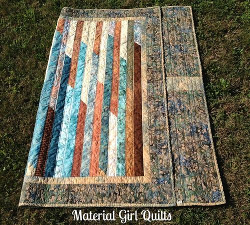 Batik Strips folded