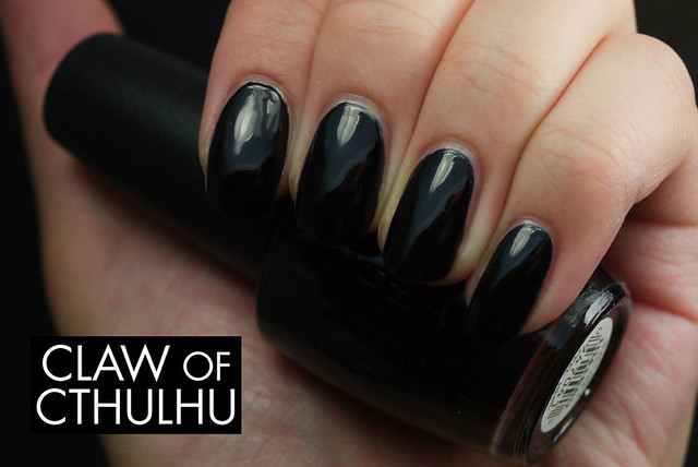 OPI Black Onyx Swatch