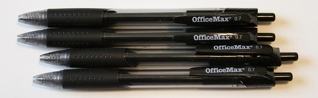 OfficeMax Retractable Gel Pens