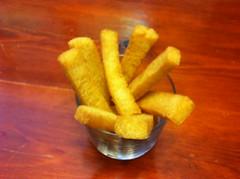 Crema de espinacas con crocantes (2)